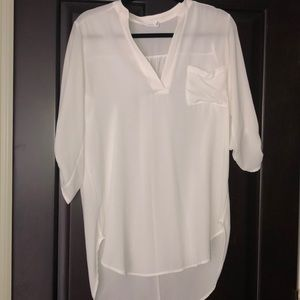 Nordstrom Lush Tunic Ivory Small